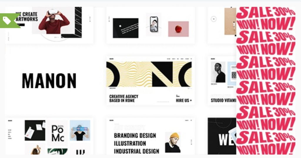 Manon - Portfolio & Agency Theme Edge-Themes
