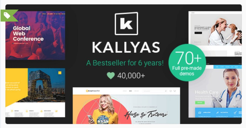 KALLYAS - Creative eCommerce Multi-Purpose WordPress Theme hogash