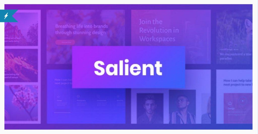 Salient - Responsive Multi-Purpose Theme ThemeNectar