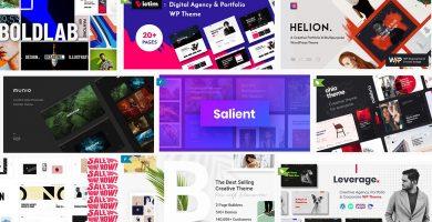 Los mejores creative theme para Wordpress del mes