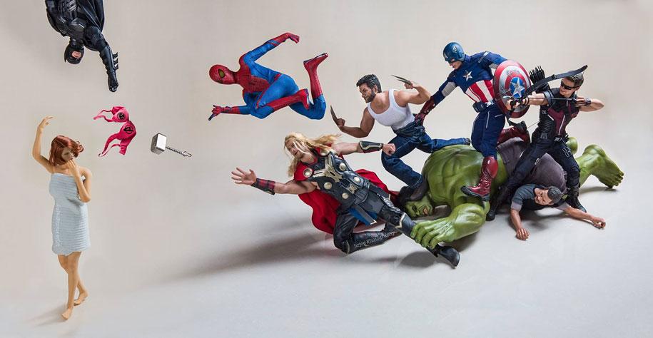 La vida cotidiana de superhéroes con Edy Hardjo
