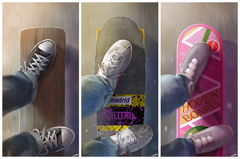 BTTF Decks - Andy Fairhurst