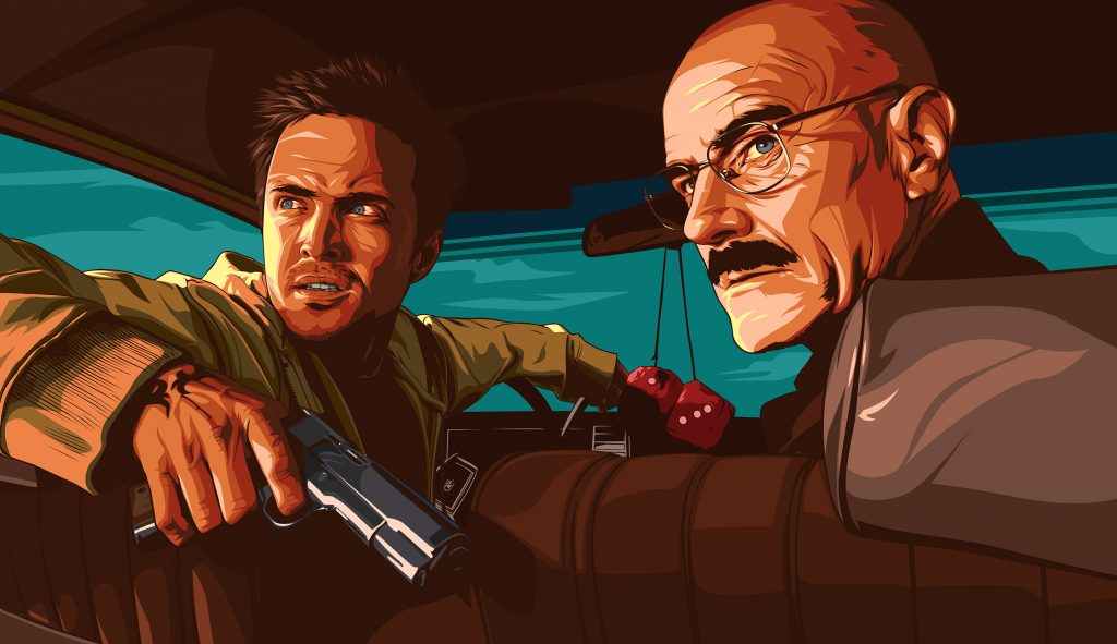 Breaking Bad fanart - Biko Tecson  - Arte creativo