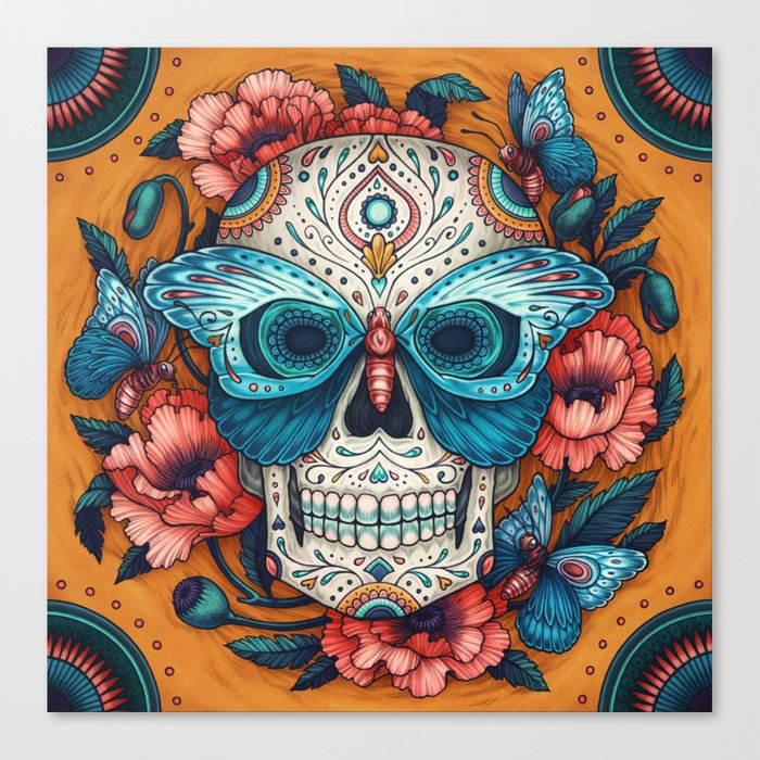 Day of the Dead Canvas Print by Kate O'Hara