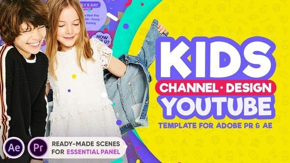 Kids YouTube Channel Design por EasyEdit