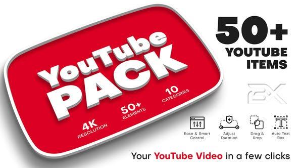 YouTube Pack por BRAXXU