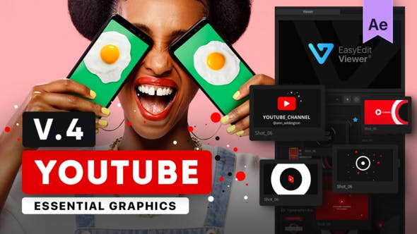 Youtube Essential Library por EasyEdit  - YouTube Packs