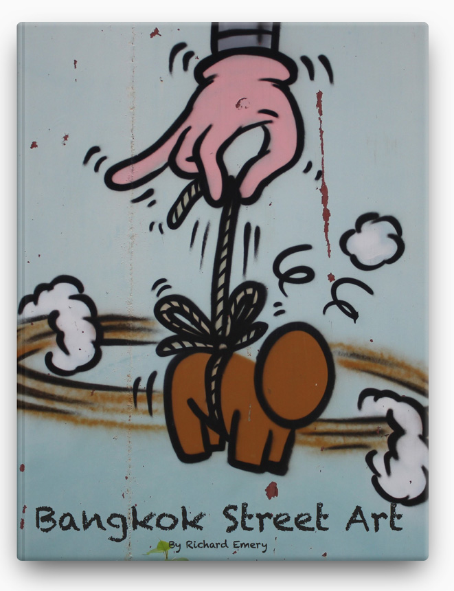 Bangkok Street Art BOOK ∙ 2013 Richard