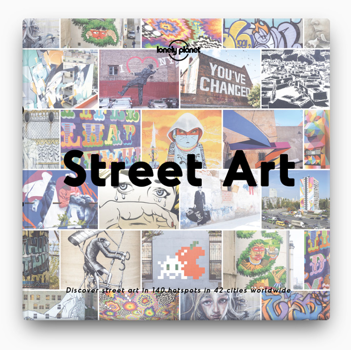 books de Street Art BOOK ∙ 2017 Lonely Planet
