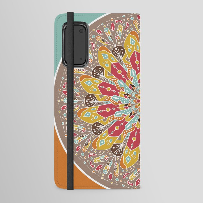 Mandala Boho Style Android Wallet Case - ART PRINTS en Society6