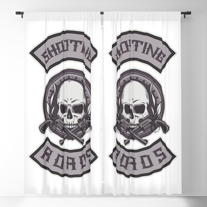 Shooting Roads Blackout Curtain