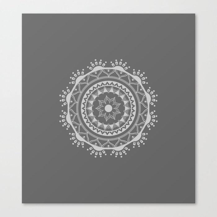 Mandala light Mx Canvas Print