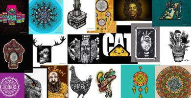 Productos disponibles para ART PRINTS en Redbubble PARTE 1