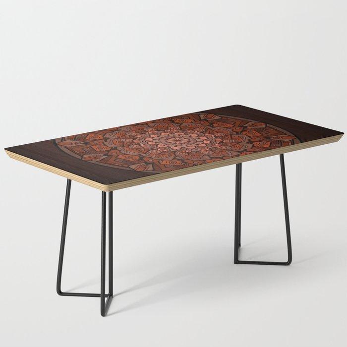 Rock mandala Coffee Table