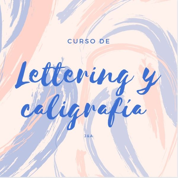Curso De Lettering y caligrafía