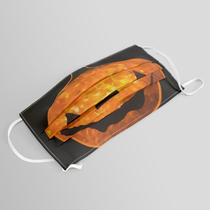 Pumpkin LowPoly Face Mask