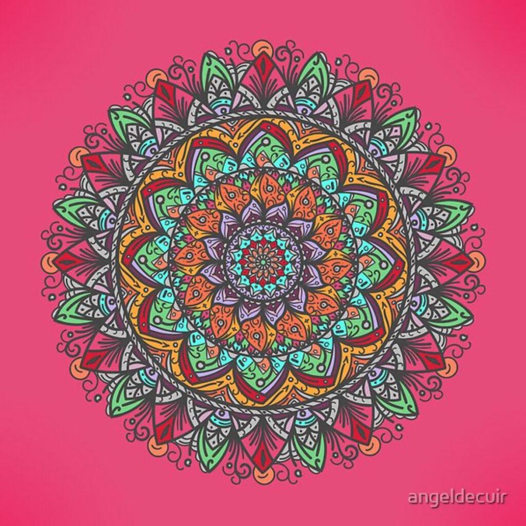 Great Mandala Hand Made 1