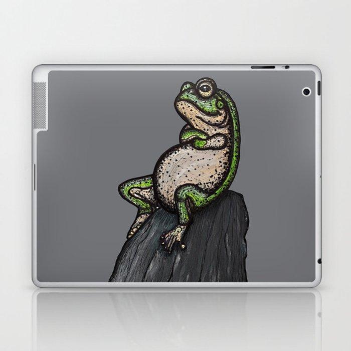 Cool frog Laptop & iPad Skin