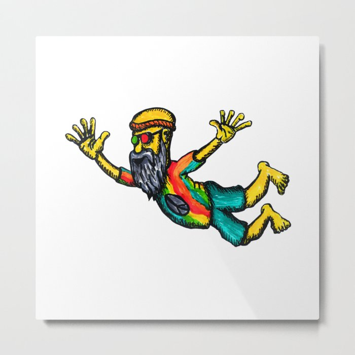 hippie ink Metal Print