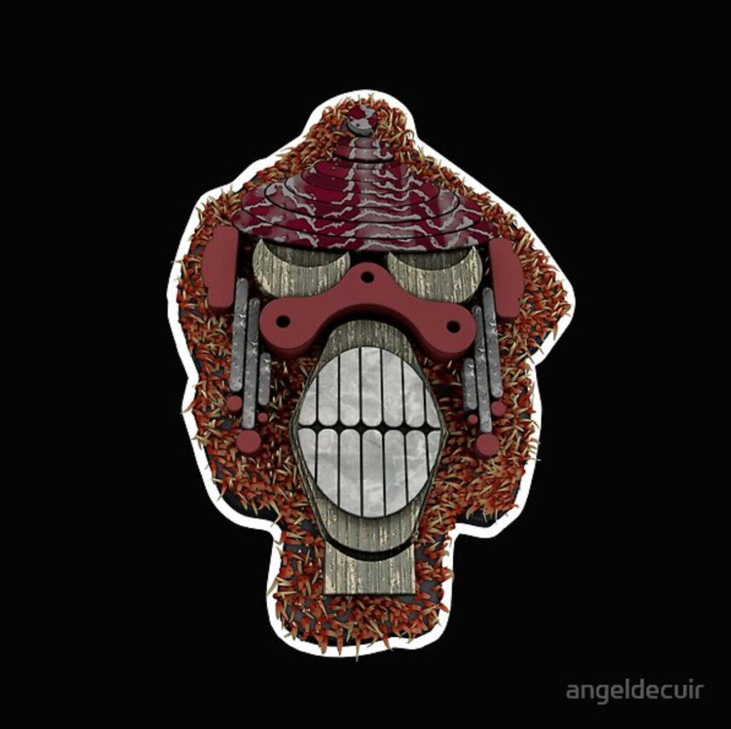 Monkey Teeth 3D
