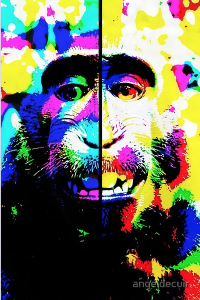 Mono alucinado