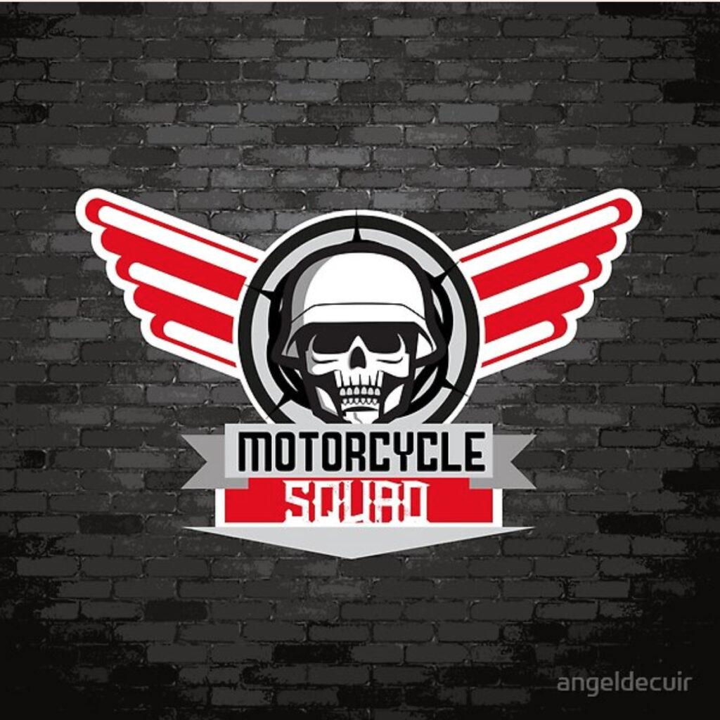Motorcycle Squad Arte impreso en Redbubble