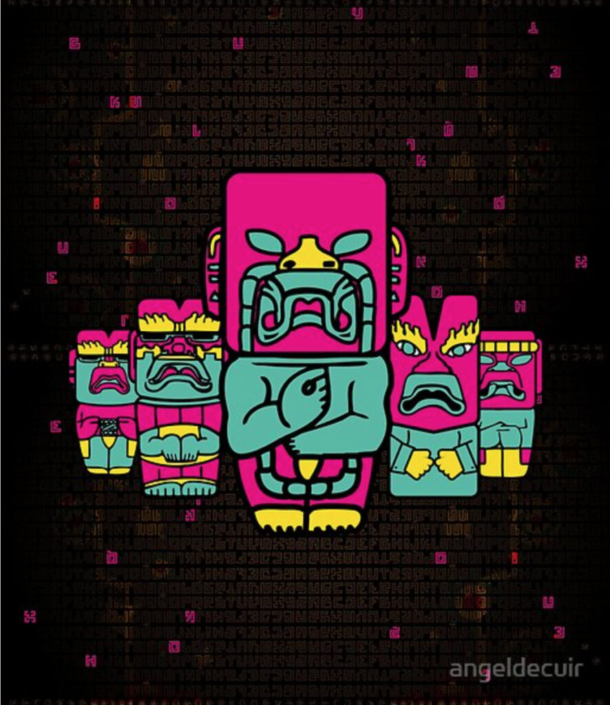 Olmecafest art prints en Redbubble