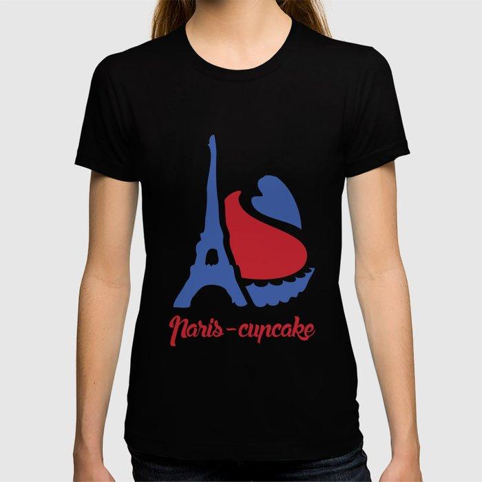 Paris-cupcakes T-shirt