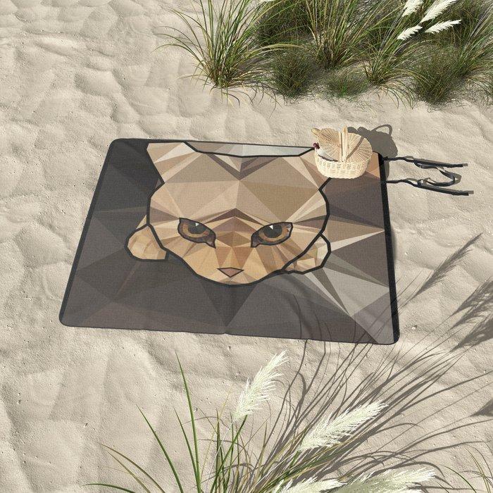 Kitten Picnic Blanket