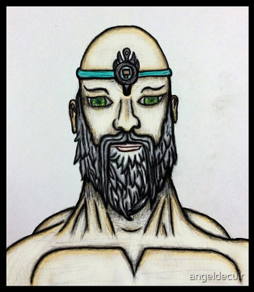 Sketch Spiritual Master