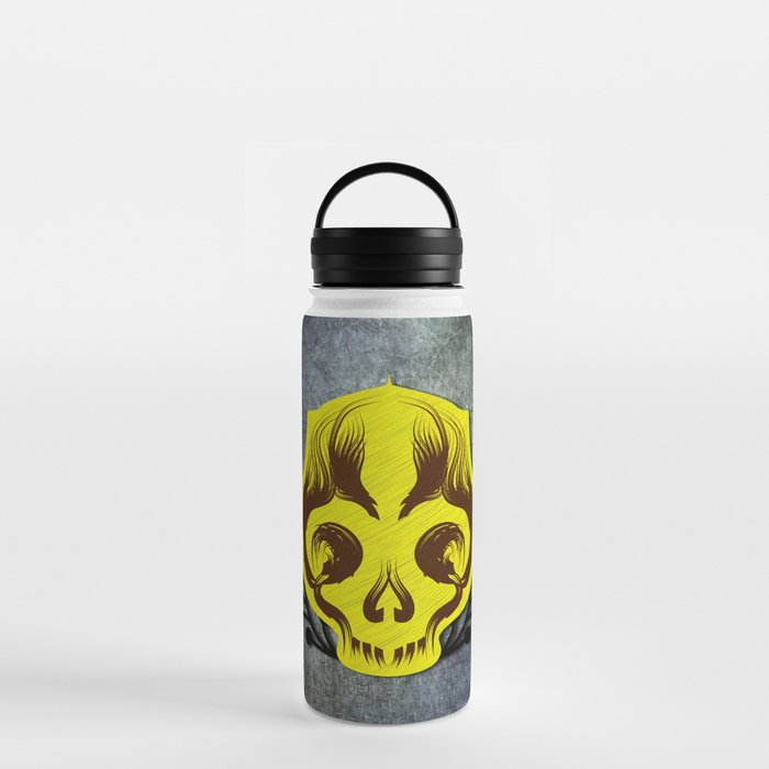 Skull Brush Water Bottle