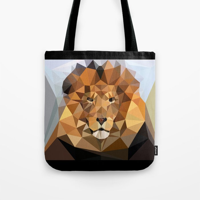 Lion Techy Art Tote Bag