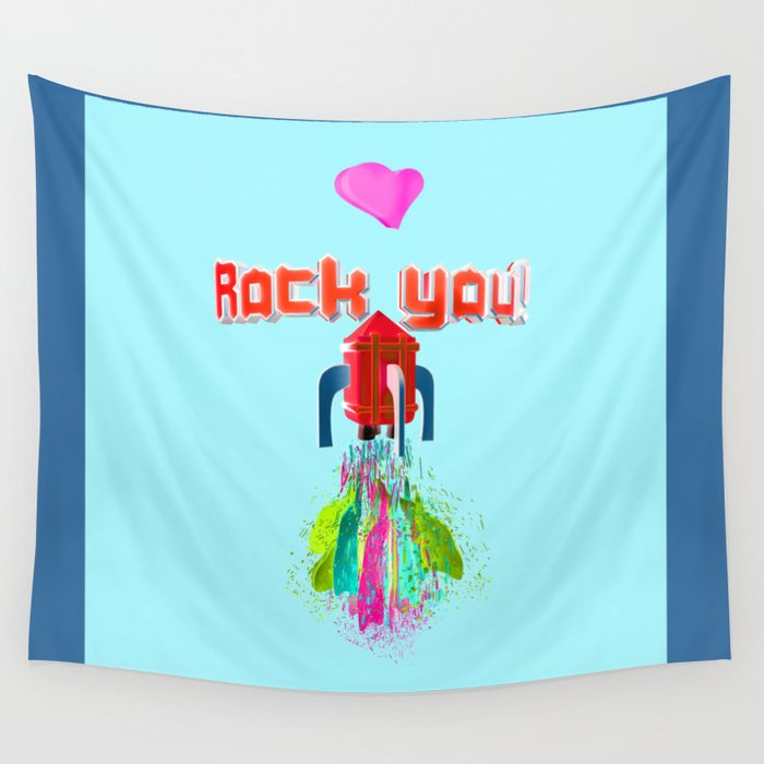 Hearth Rock You Wall Tapestry