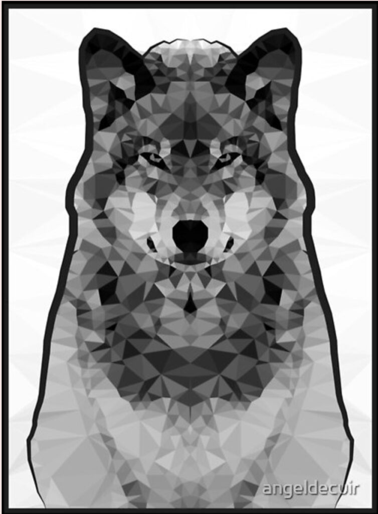 Wolf Lowpoly
