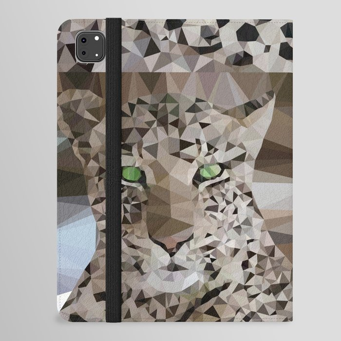 Leopard lowpoly iPad Folio Case