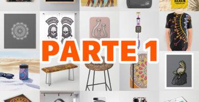 Productos disponibles para ART PRINTS en Society6 PARTE 1