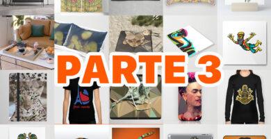Productos disponibles de Arte Impreso de Society6 | PARTE 3