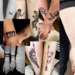 20 geniales tatuajes de amor para parejas en este San Valentín