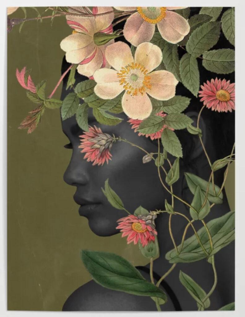 Bloom Poster - dada22 society6 - mujer