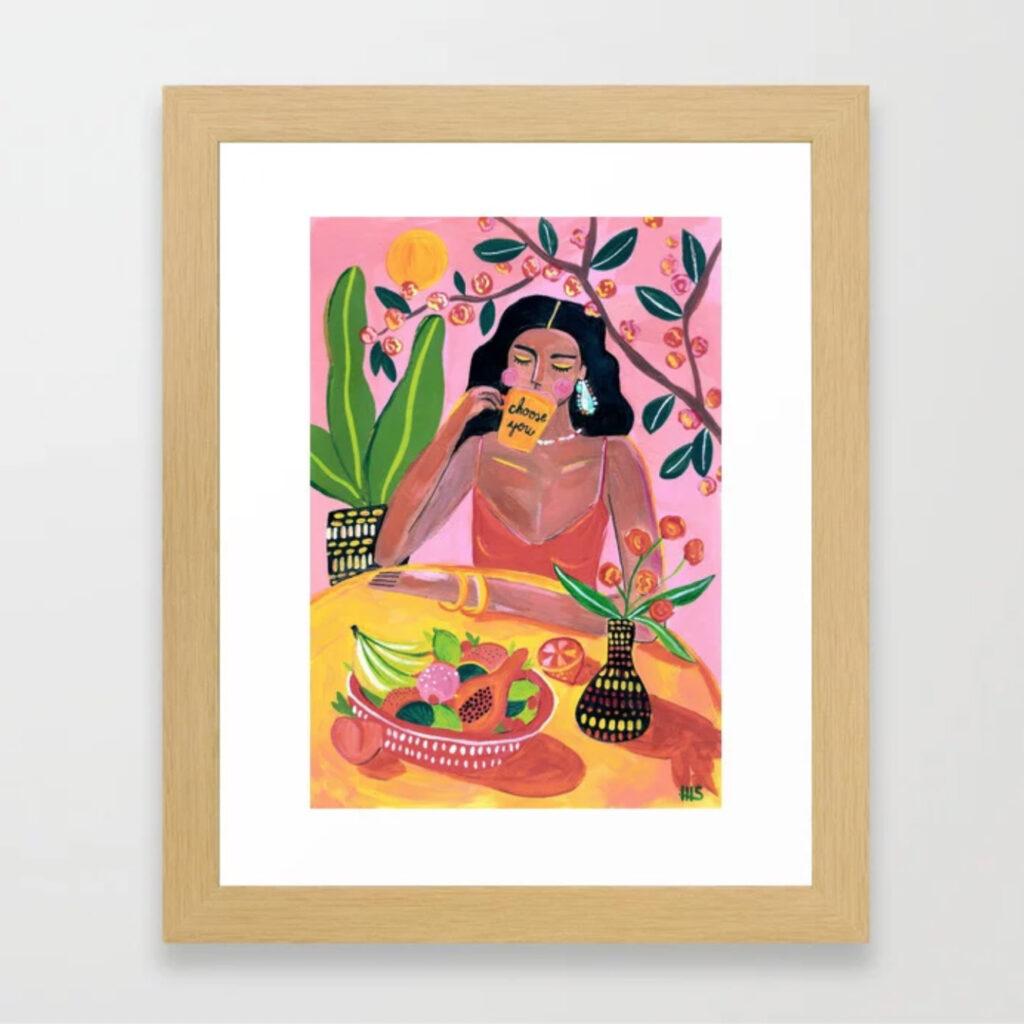 Choose you Framed Art Print - Maggie Stephenson