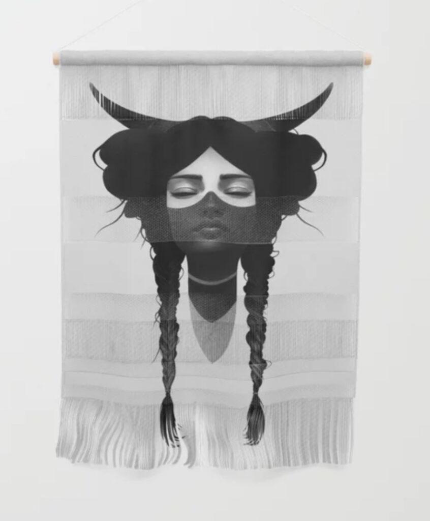 Windway Warrior Wall Hanging - Ruben Ireland - Mujer