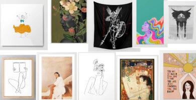 Bellas obras - día internacional de la mujer