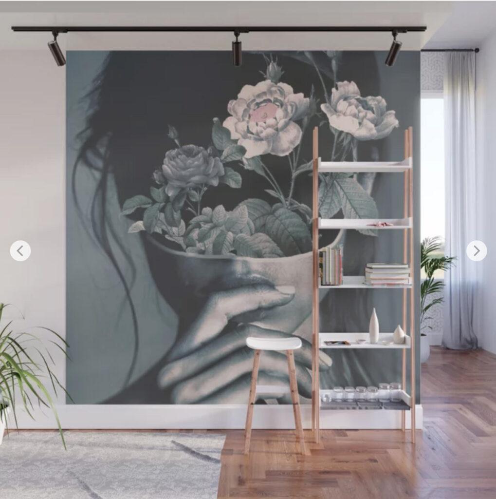 inner garden Wall Mural - dada22