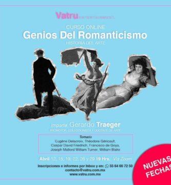 Genios del romanticismo, curso online - historia del arte