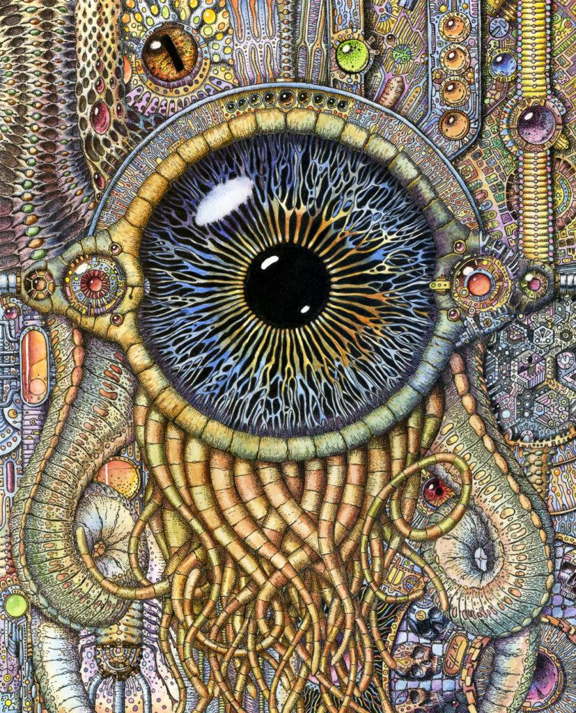 Bio-mechanical eye III  - AkdasFirst