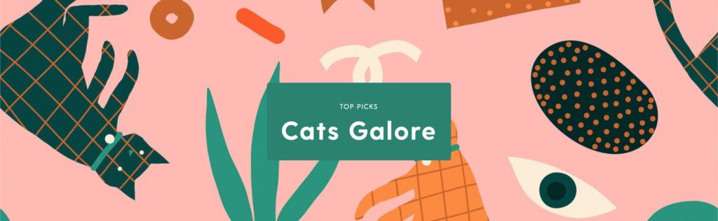 Colecciones de arte en Cats Galore