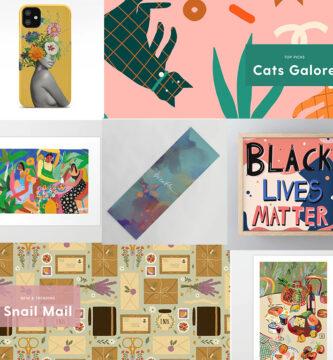 Colecciones de Arte para Abril en society6