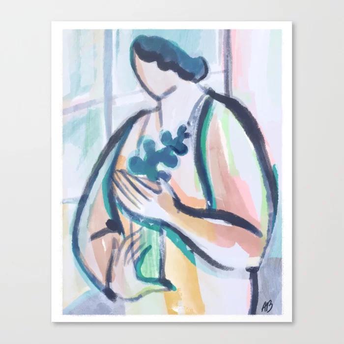 Propagate Canvas Print by Alexandra Bowman