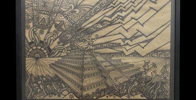 Cuadro listo de La Leyenda de Tajín y los Siete Truenos 🤎 NARRACIÓN Literaria