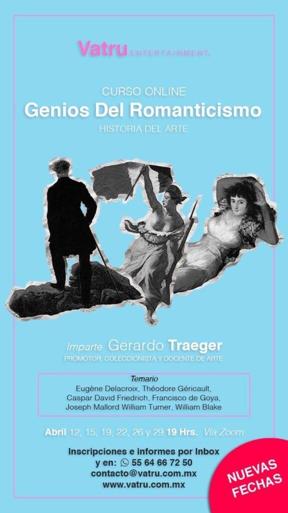 Curso online - Genios del Romanticismo - Historia del Arte